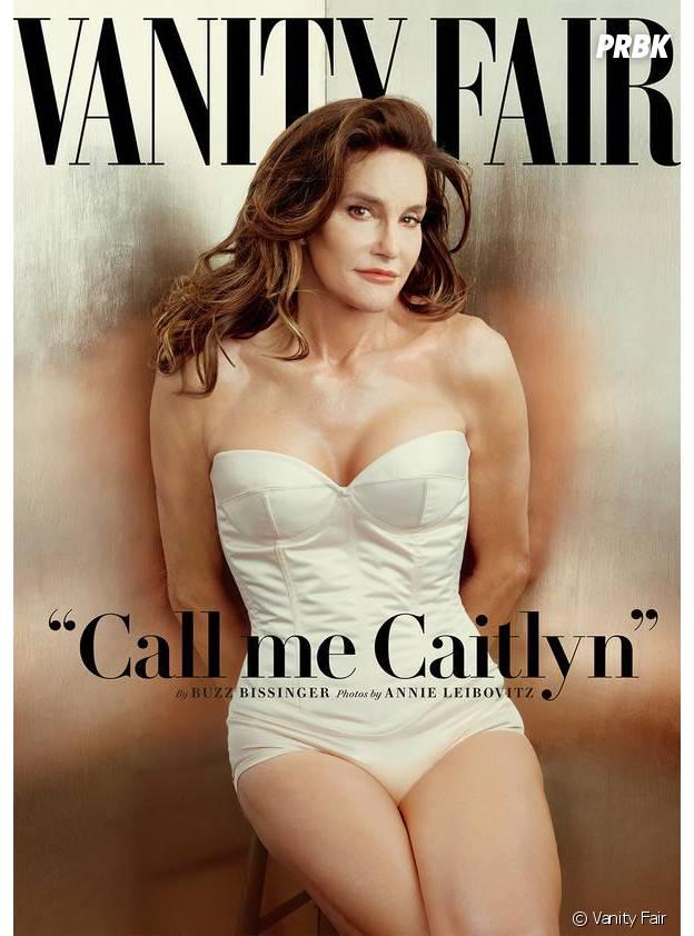 Bruce Jenner en femme en vouverture de Vanity Fair
