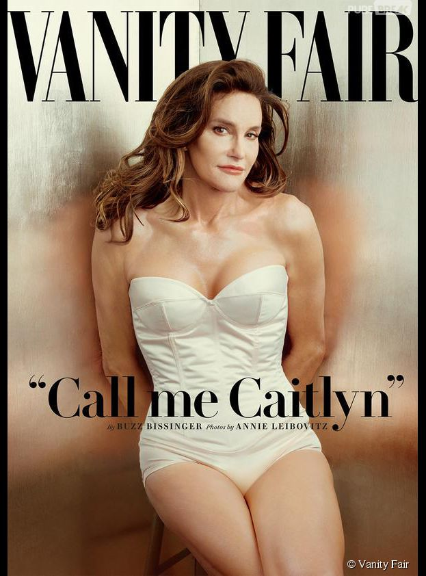 Bruce Jenner en femme en couverture du magazine Vanity Fair