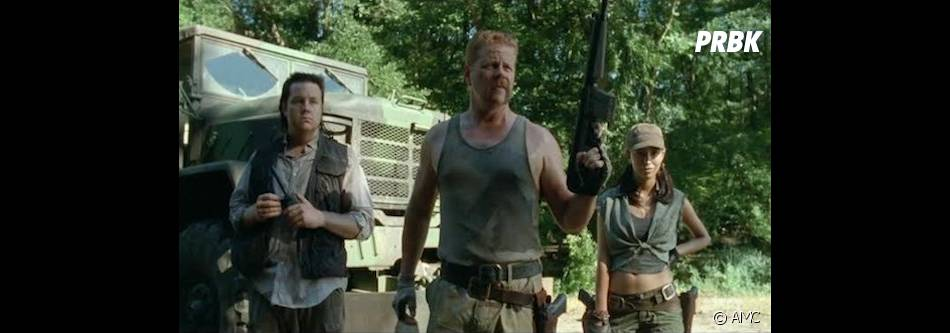 The Walking Dead saison 6 : Abraham bientôt sans Eugene ?
