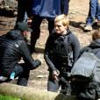 Hunger Games 4 : Josh Hutcherson en tournage à Noisy le Grand le 13 mai 2014