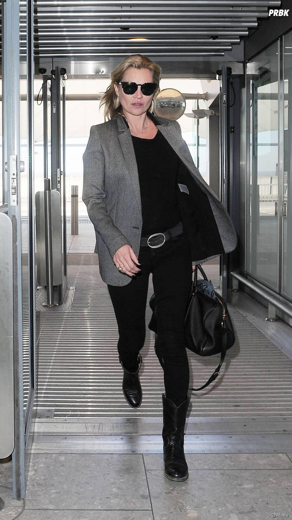 Kate Moss : un élément perturbateur dans un vol Easy Jet