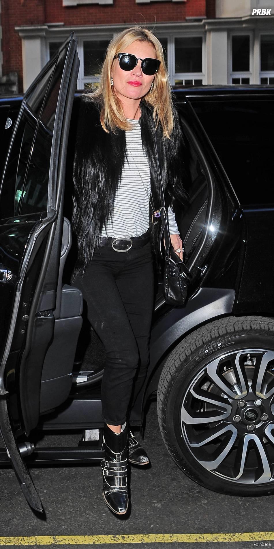 Kate Moss au coeur d'un vol polémique chez Easy Jet le dimanche 7 juin