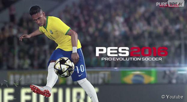 PES 2016 : le teaser avec Neymar