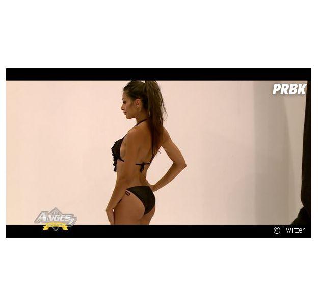 Somayeh (Les Anges 7) sexy en bikini dans l'épisode 72