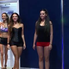 Ludivine Aubourg, Cleofa et Eva (Las Vegas Academy)  sexy pour un cours de pole dance