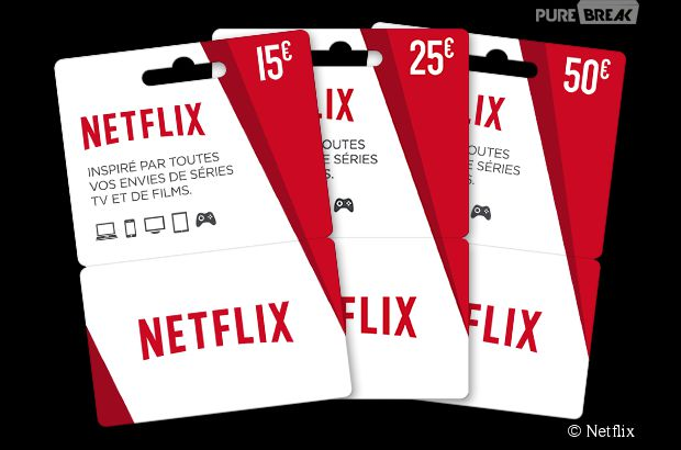Favorit Netflix : le service de streaming se lance dans la carte cadeau ! ID03