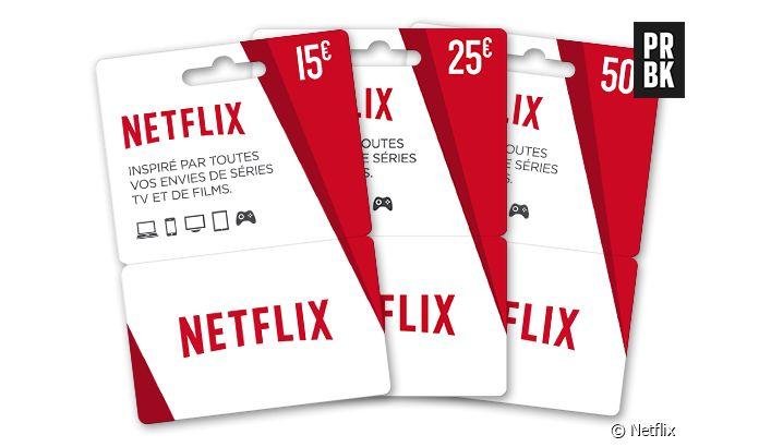 Carte Cadeau Netflix.Netflix Le Service De Streaming Se Lance Dans La Carte
