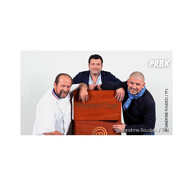 Christian Etchebest, à droite sur la photo, est l'un des jurés de Masterchef saison 5