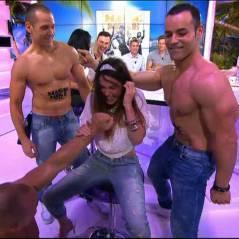 Capucine Anav : show torride et délirant avec des stripteaseurs dans le Mag