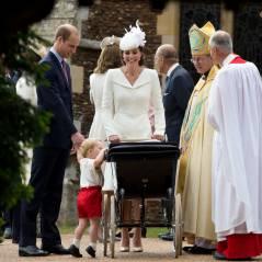 Baptême de Charlotte : l'adorable Prince George, sosie de son père, vole la vedette à sa soeur