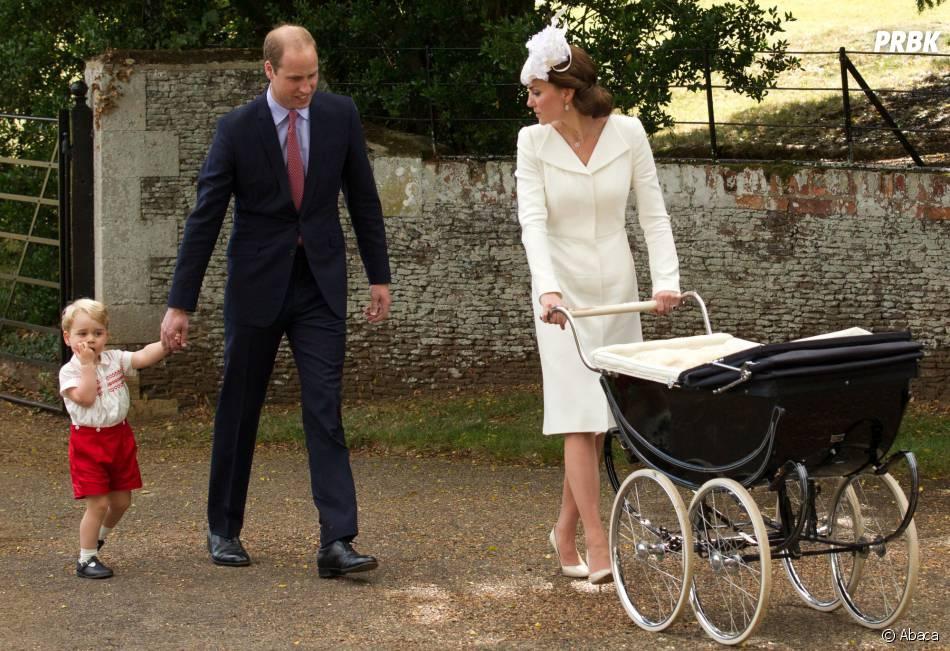 Kate Middleton, Prince William, George et Charlotte : la famille royale au complet, le 5 juillet 2015 en Angleterre