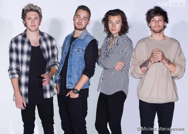 One Direction : le groupe fête ses 5 ans