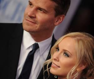 David Boreanaz et sa femme Jaime Bergman
