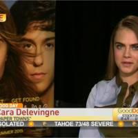 Cara Delevingne blasée et désagréable en interview : la présentatrice la remet en place en direct