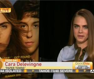 Cara Delevingne : interview surréaliste pour La Face Cachée de Margot dans Good Day Sacramento à la télévision américaine