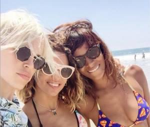 Shy'm, Tal et Aria : vacances complices et sexy entre filles à Los Angeles, juillet 2015