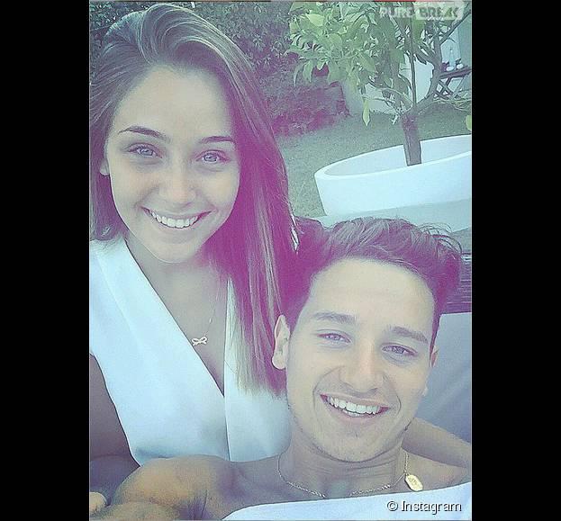 Charlotte Pirroni et Florian Thauvin : la Miss Côte d'Azur 2014 et le footballeur de l'OM s'affichent en couple complice sur Instagram