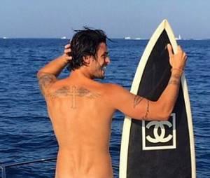 Baptiste Giabiconi nu sur Instagram, le 7 août 2015