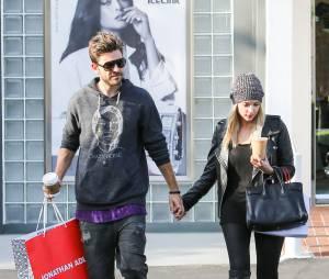 Ashley Benson et son petit-ami Ryan Good en mars 2014