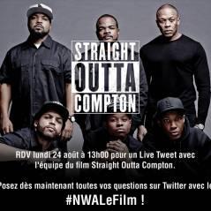 Straight Outta Compton : Ice Cube, Dr Dre... Twitlive et avant-première à Paris
