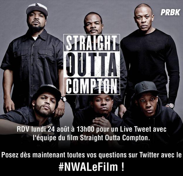 Straight Outta Compton : un livetweet et une avant-première à Paris avec les acteurs