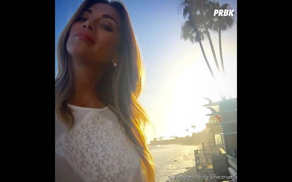 Nicole Scherzinger au soleil sur Instagram
