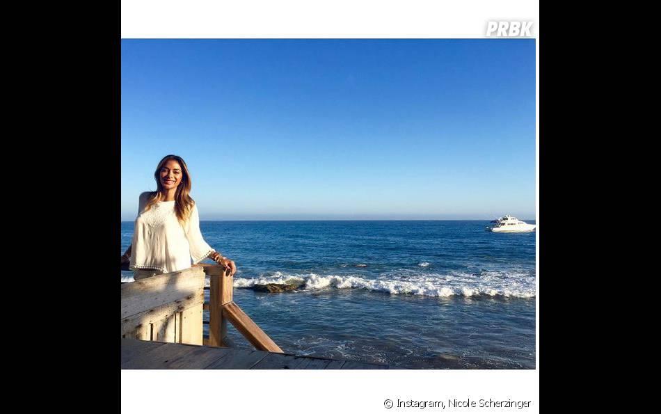 Nicole Scherzinger partage ses vacances au soleil sur Instagram
