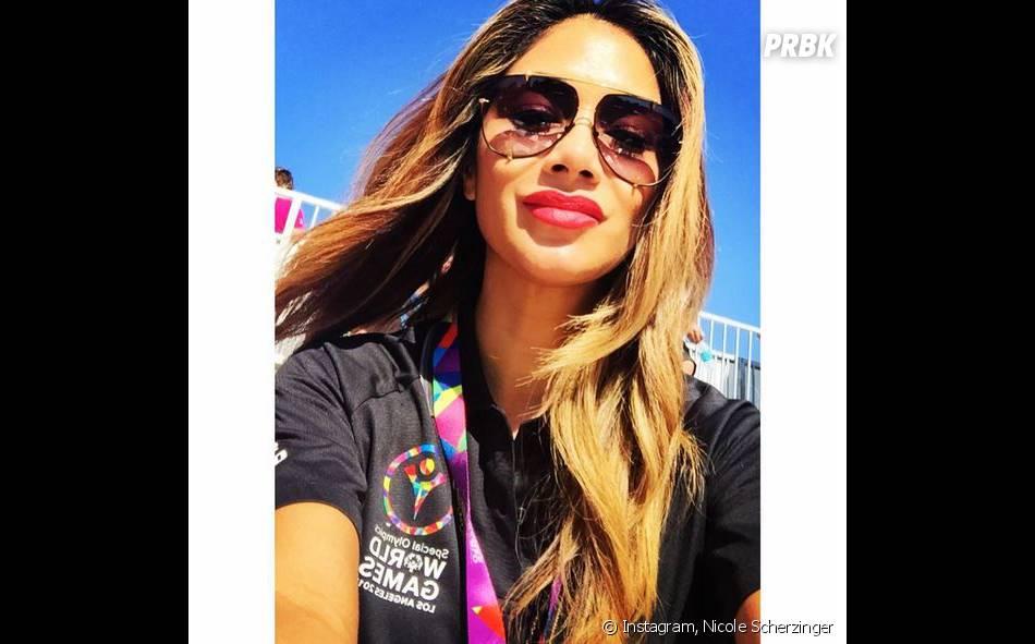 Nicole Scherzinger : selfie ensoleillé sur Instagram