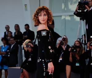 Dakota Johnson à l'avant première du film A Bigger Splash du festival international de Venise, le 6 septembre 2015