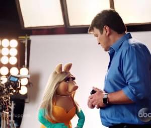 Castle saison 8 : Rick prêt à tromper Kate avec Peggy des Muppets ?