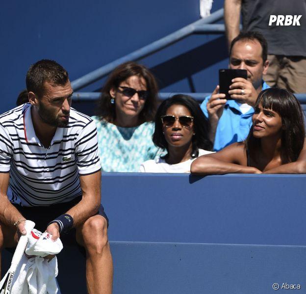 Shy'm, première fan de Benoît Paire lors de l'US Open, le 6 septembre 2015 à New-York