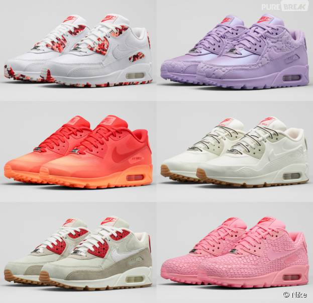 Nike : FA15 AIR MAX 90 CITY, la collection de baskets inspirée des desserts du monde entier