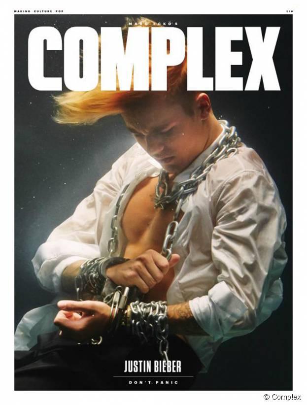 Justin Bieber en Une du magazine Complex : confidences sur Selena Gomez
