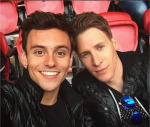 Tom Daley et son petit ami Dustin Lance Back se sont fiancés en septembre 2015