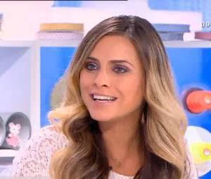 Clara Morgane se confie sur sa fille et son passé dans le porno, le 7 octobre 2015 dans Les Maternelles