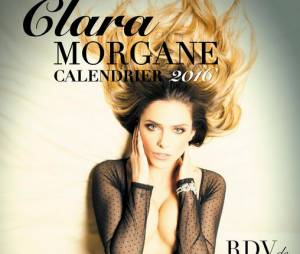 Clara Morgane : la couverture de son calendrier sexy 2016