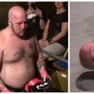 Epic FAIL en MMA : il perd son match... et se fait caca dessus sur le ring