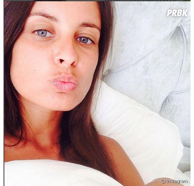 Malika Ménard : selfie no make up au réveil sur Instagram