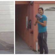 Caméra cachée : un fan de Marvel piège des inconnus avec un faux marteau de Thor high-tech