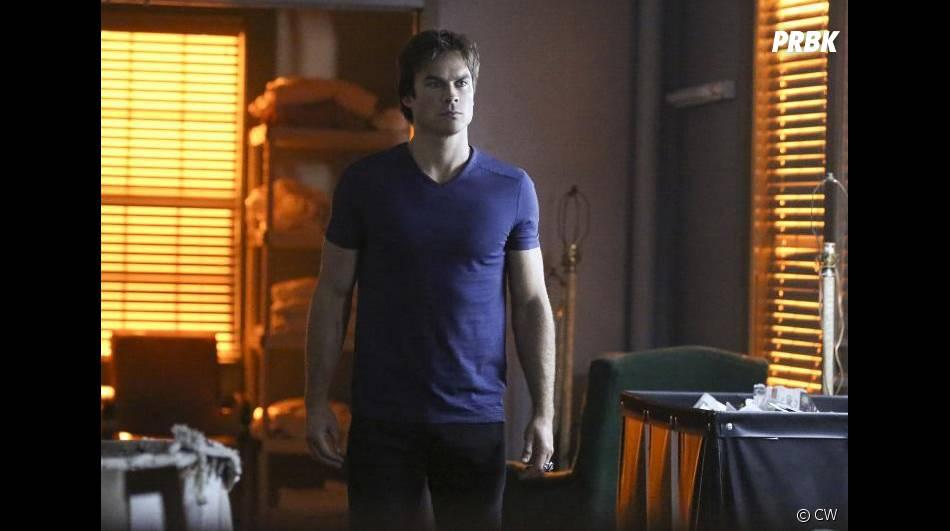 The Vampire Diaries saison 7, épisode 3 : Ian Somerhalder (Damon) sur une photo