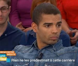 Brahim Zaibat invité dans Toute une histoire, le 19 octobre 2015, sur France 2