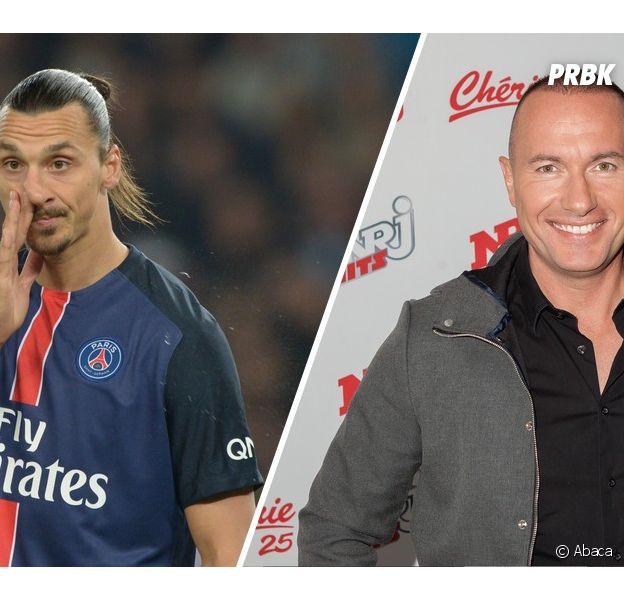 Zlatan Ibrahimovic taclé par Pascal Soetens