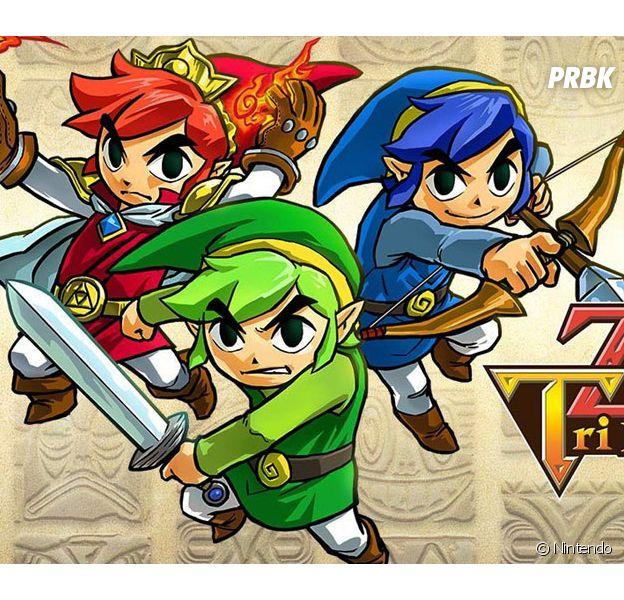 The Legend of Zelda : Tri Force Heroes est disponible sur 3DS depuis le 23 octobre 2015