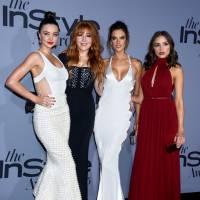 Kim Kardashian enceinte, Selena Gomez sexy et transparente... le tapis rouge des InStyle Awards 2015