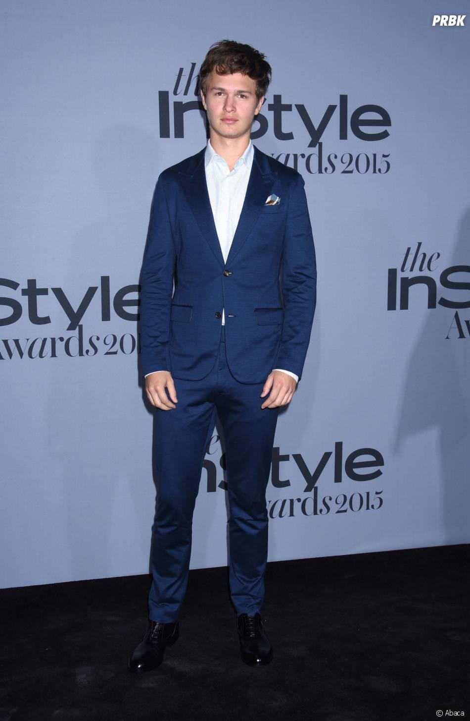 Ansel Elgort aux InStyle Awards le 26 octobre 2015 à Los Angeles