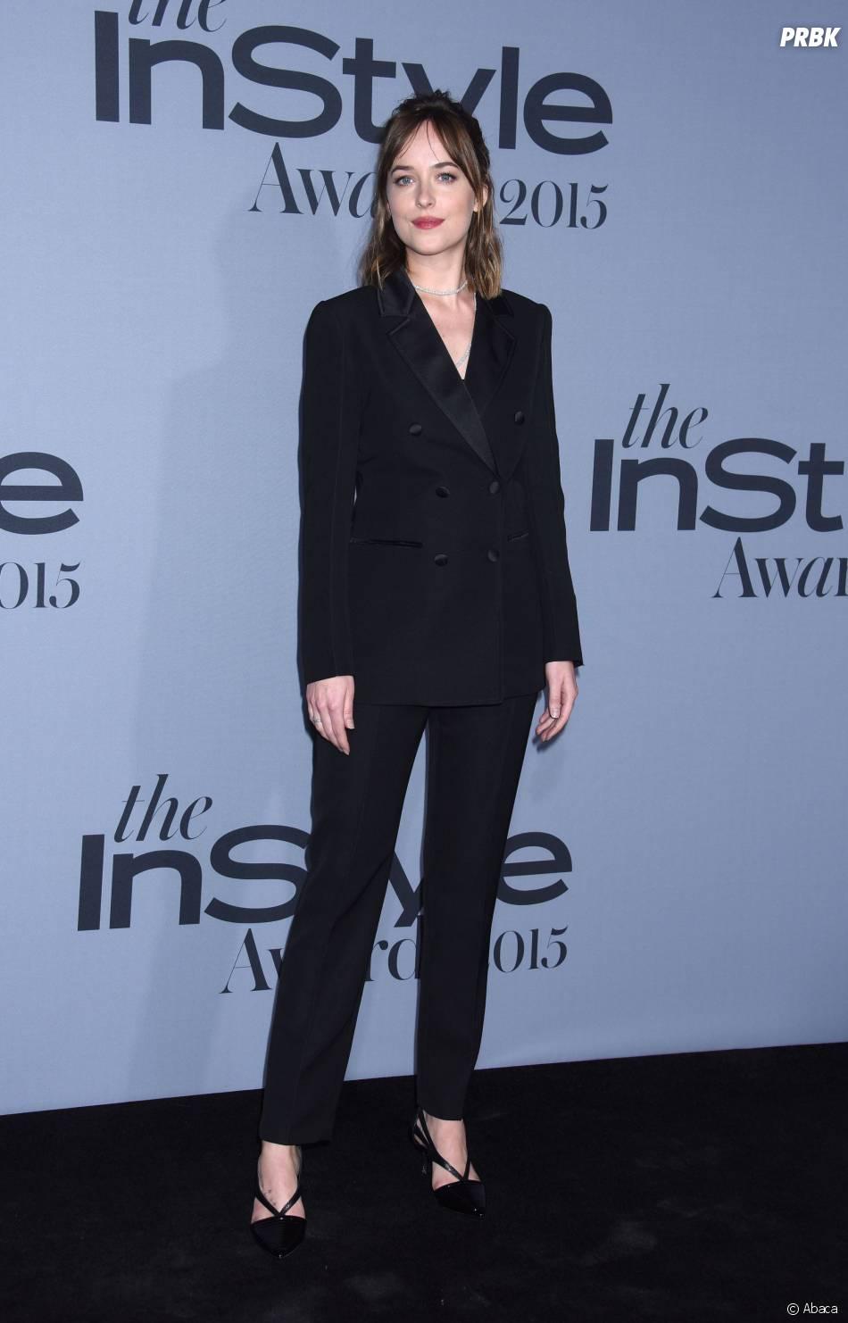 Dakota Johnson aux InStyle Awards le 26 octobre 2015 à Los Angeles