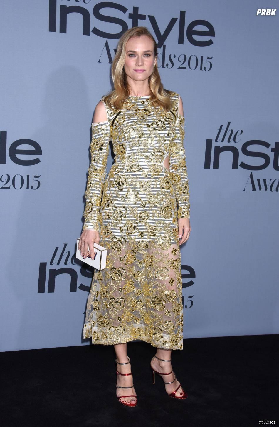 Diane Kruger aux InStyle Awards le 26 octobre 2015 à Los Angeles