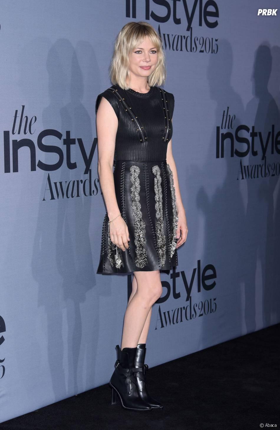 Michelle Williams aux InStyle Awards le 26 octobre 2015 à Los Angeles