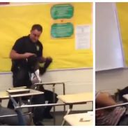 Une élève noire plaquée au sol en plein cours par un policier blanc : la vidéo qui choque les USA