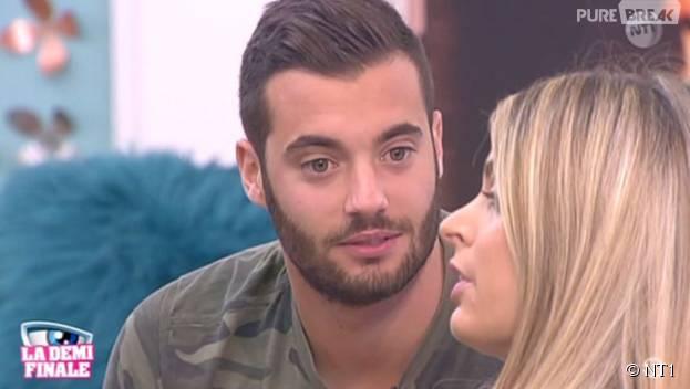 Secret Story 9 : Mélanie ne veut plus parler à Loïc lors de la quotidienne du 3 novembre 2015, sur NT1